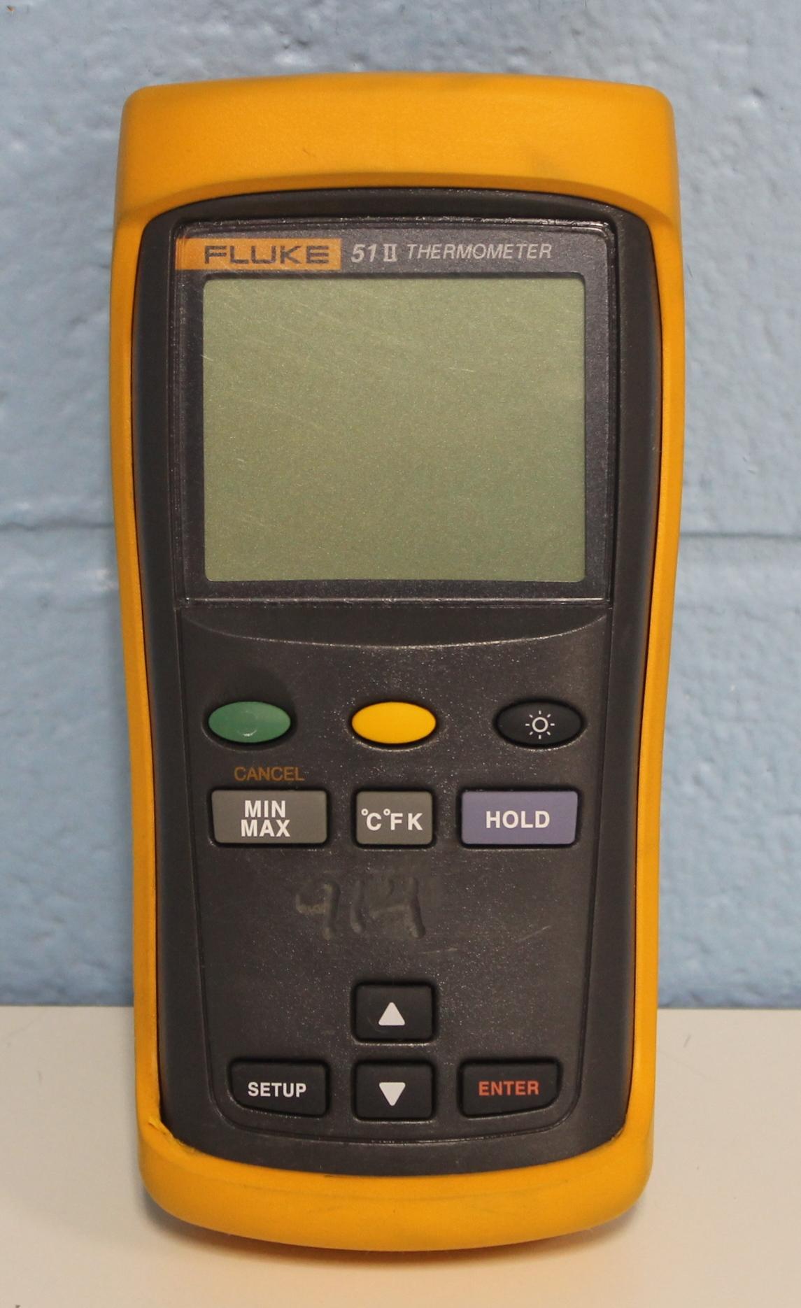 Fluke 51 Series II Single Input Digital Thermometer Image