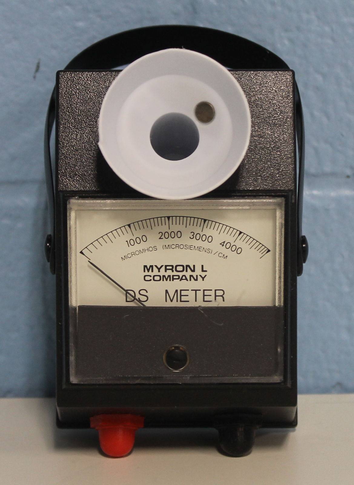 Myron L Conductivity Meter : Refurbished myron l m analog conductivity meter