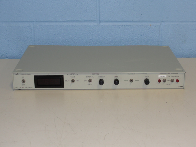 Valley Instruments 516M PO2 Control Power Module Image