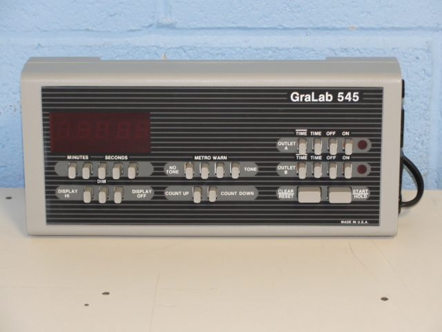 GraLab 545 Electronic Timer Image