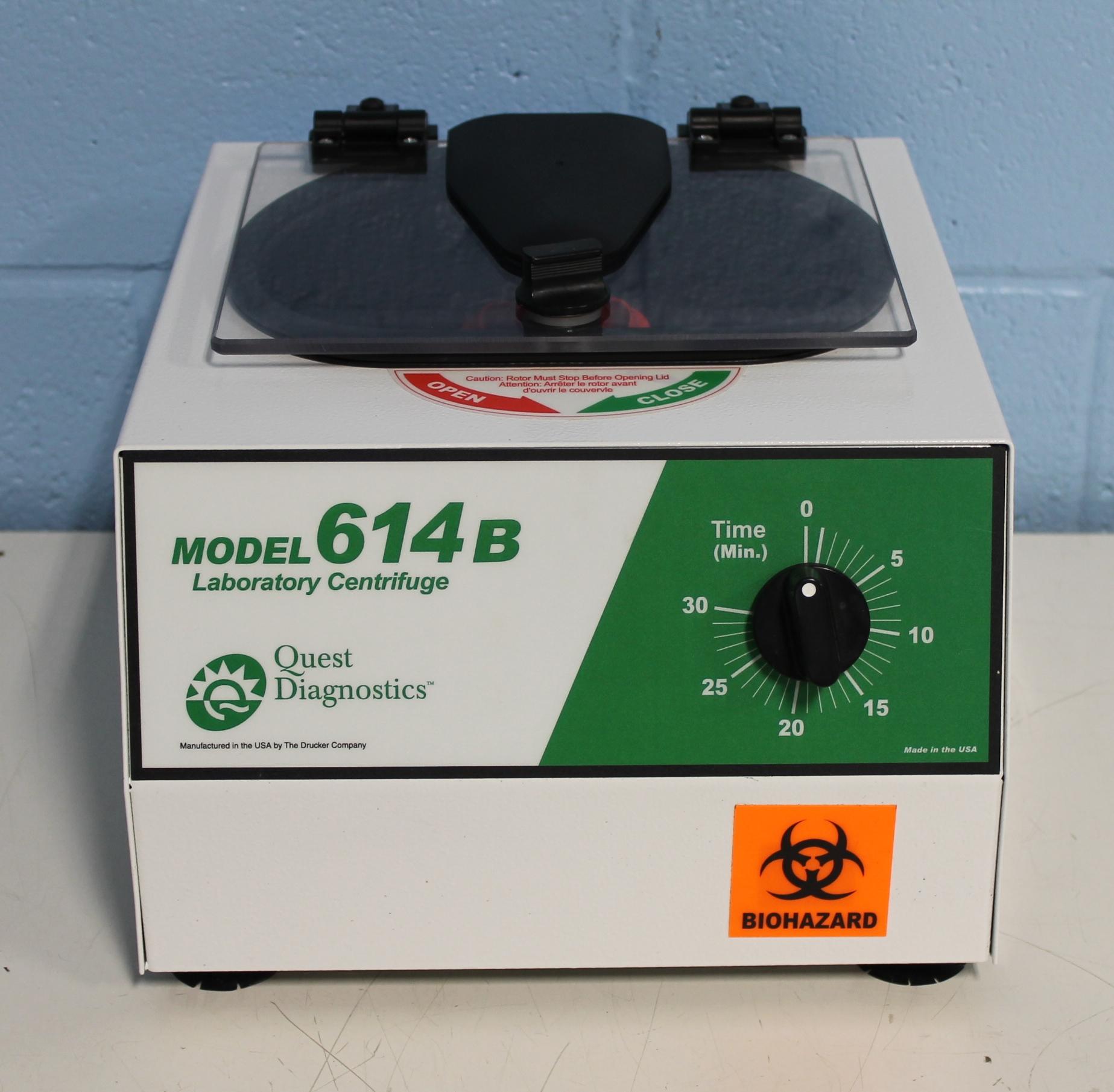 Drucker 614B Benchtop Centrifuge Image