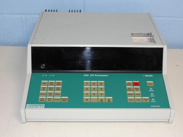 Brinkmann/Metrohm 658 KF Processor Image