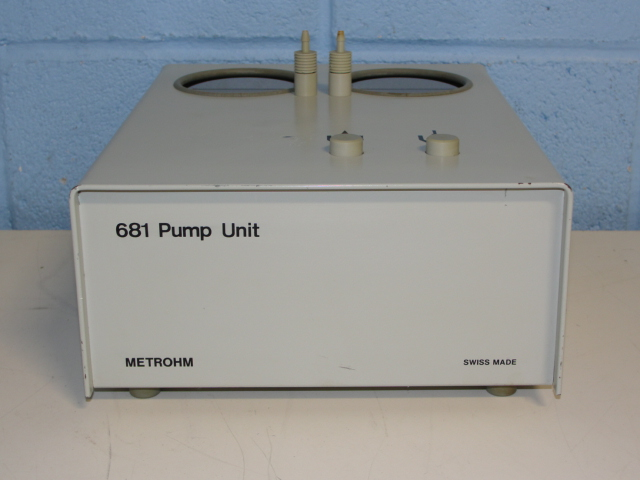 Metrohm 681 Pump Unit Image
