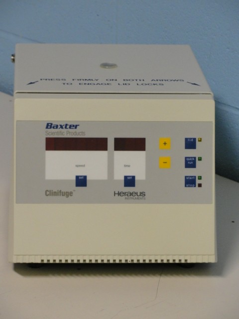 Baxter Scientific Heraeus Clinifuge Model 75003538 Image