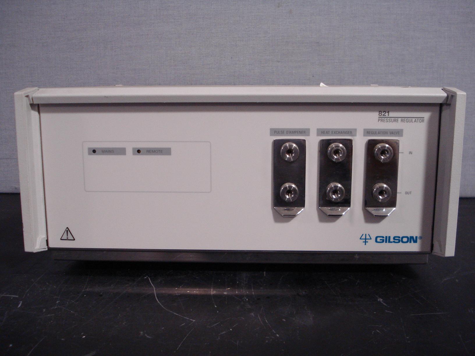 Gilson Pressure Regulator Model 821 Image