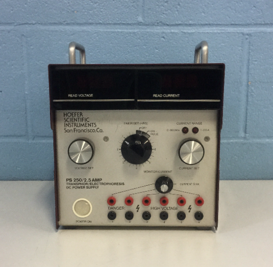 Hoefer Scientific PS-250 Power Supply  Image