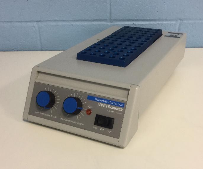 Refurbished VWR Scientific Standard Heatblock II P/N 13259-034
