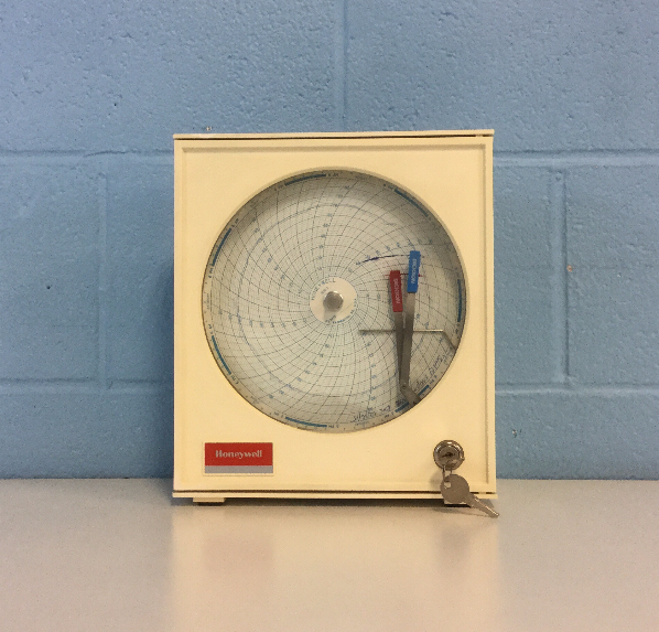 Honeywell 31061222-001 Temperature And Humidity Chart Recorder Image