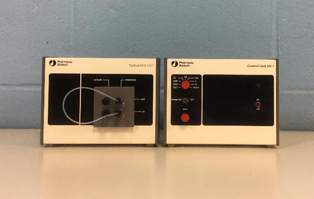 Pharmacia Biotech UV-1 Optical Unit with UV-1 Control Unit Image