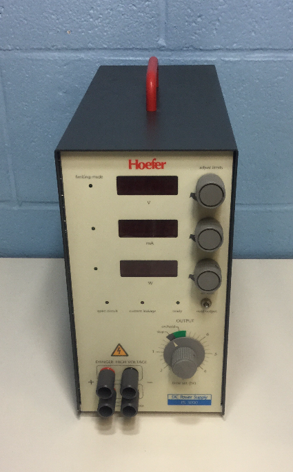 Hoefer Scientific PS 3000 DC Power Supply Image