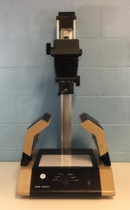 Camag Reprostar/Transilluminator II with Polaroid MP-4 Camera Stand Image