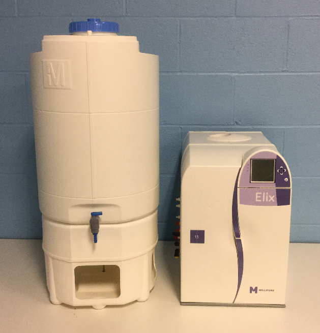 Refurbished Millipore Elix 5 Water Purification System Cat