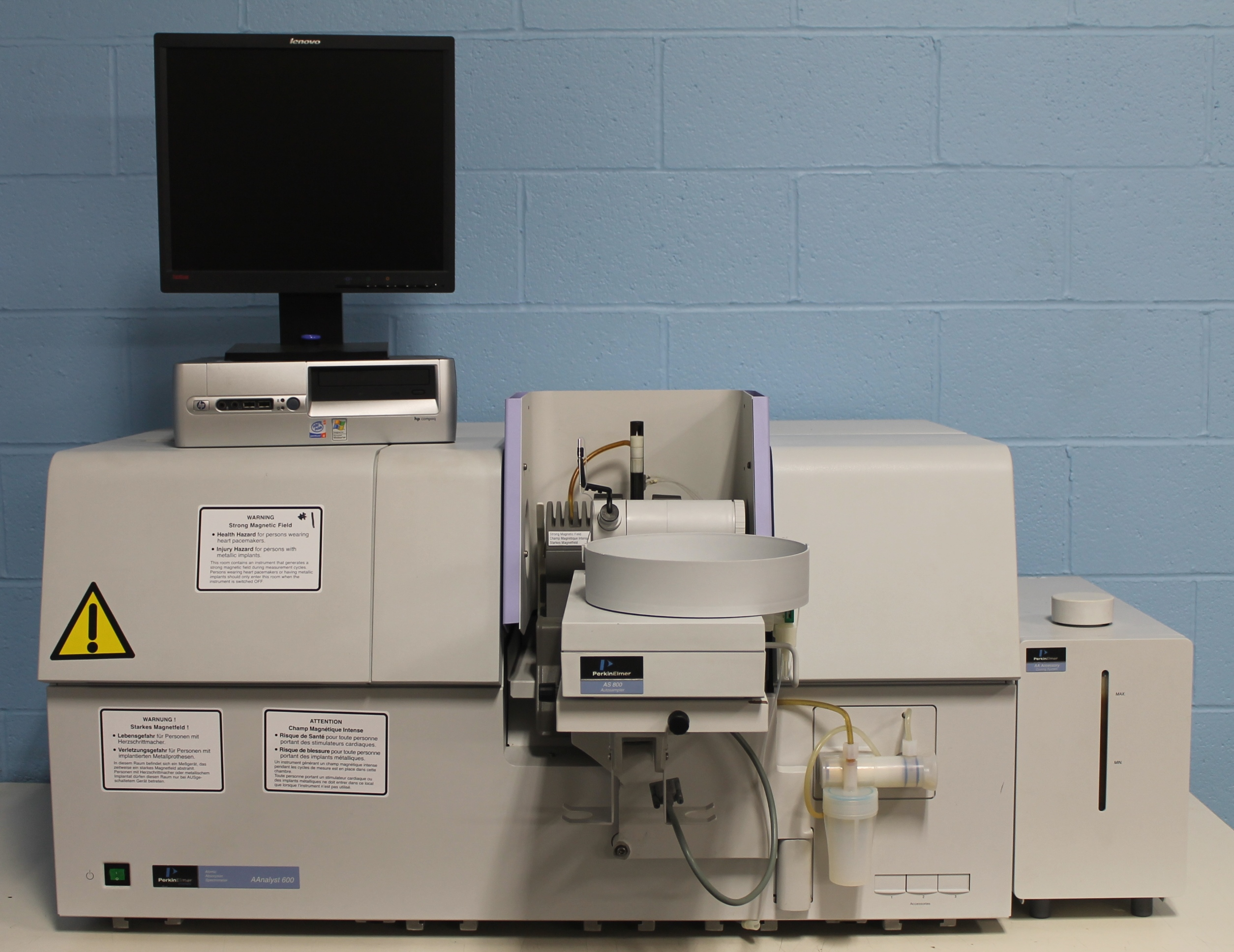Perkin Elmer AAnalyst 600 Atomic Absorption Spectrometer Image