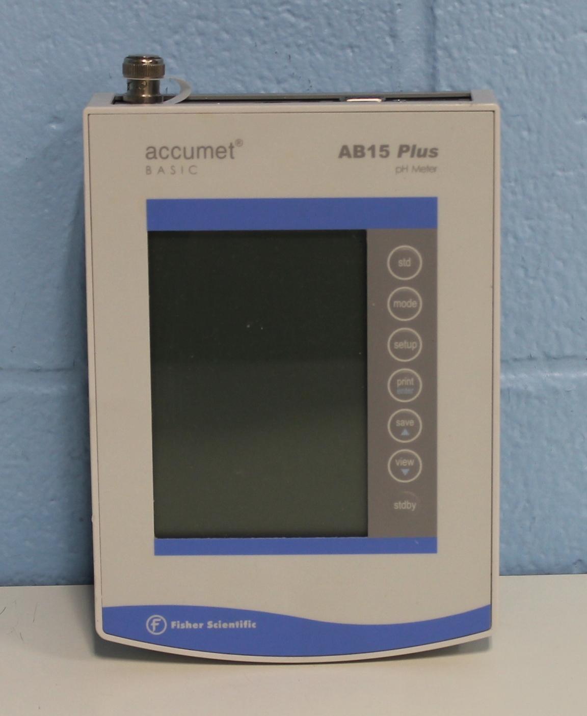 Fisher Scientific Accumet Basic AB15 Plus pH/mV/C Meter Image