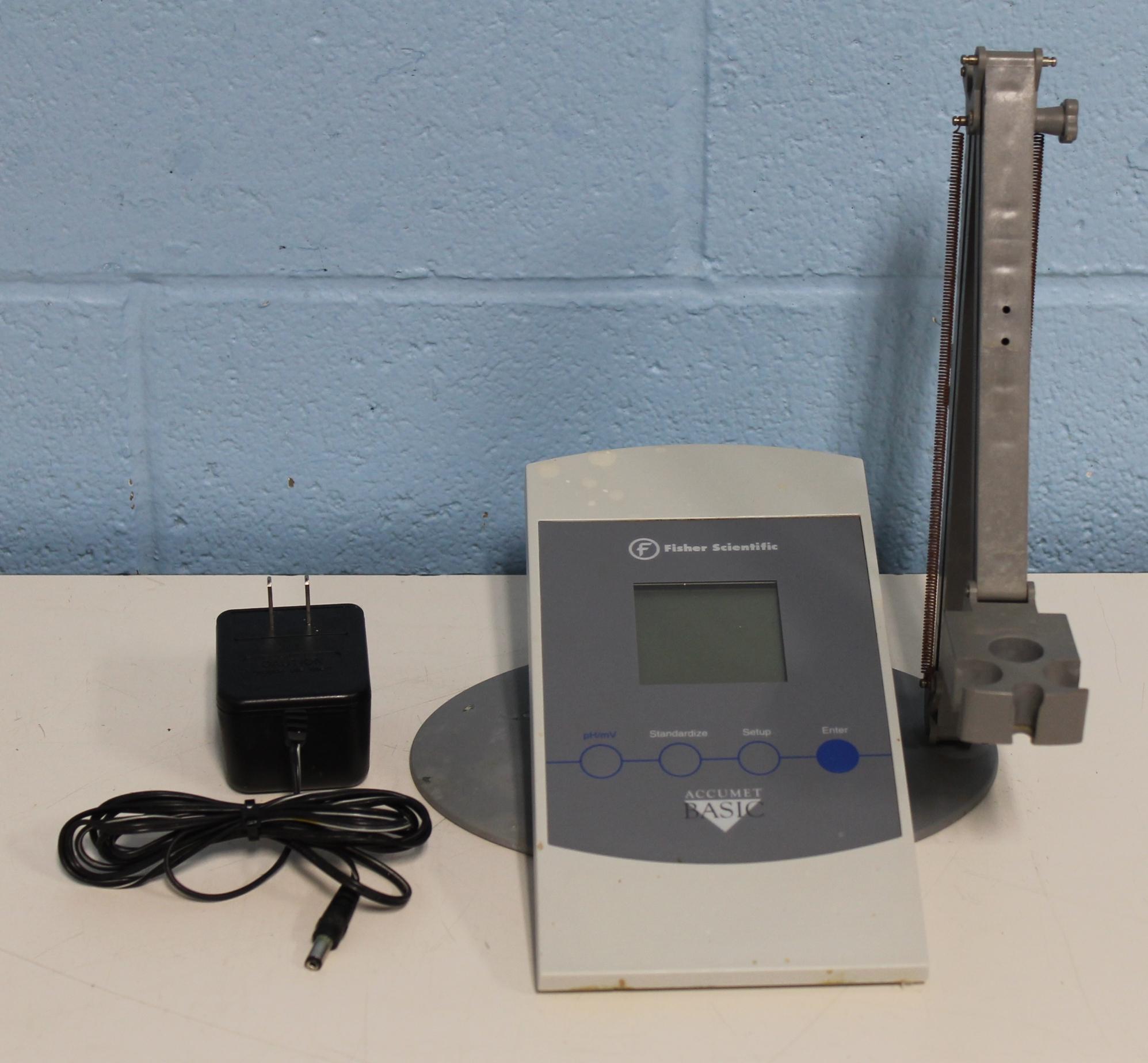 Ph Meter For Chemicals : Refurbished fisher scientific accumet basic ph meter