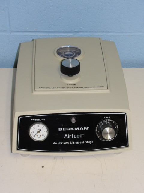 Beckman Airfuge Air-Driven Ultracentrifuge Image