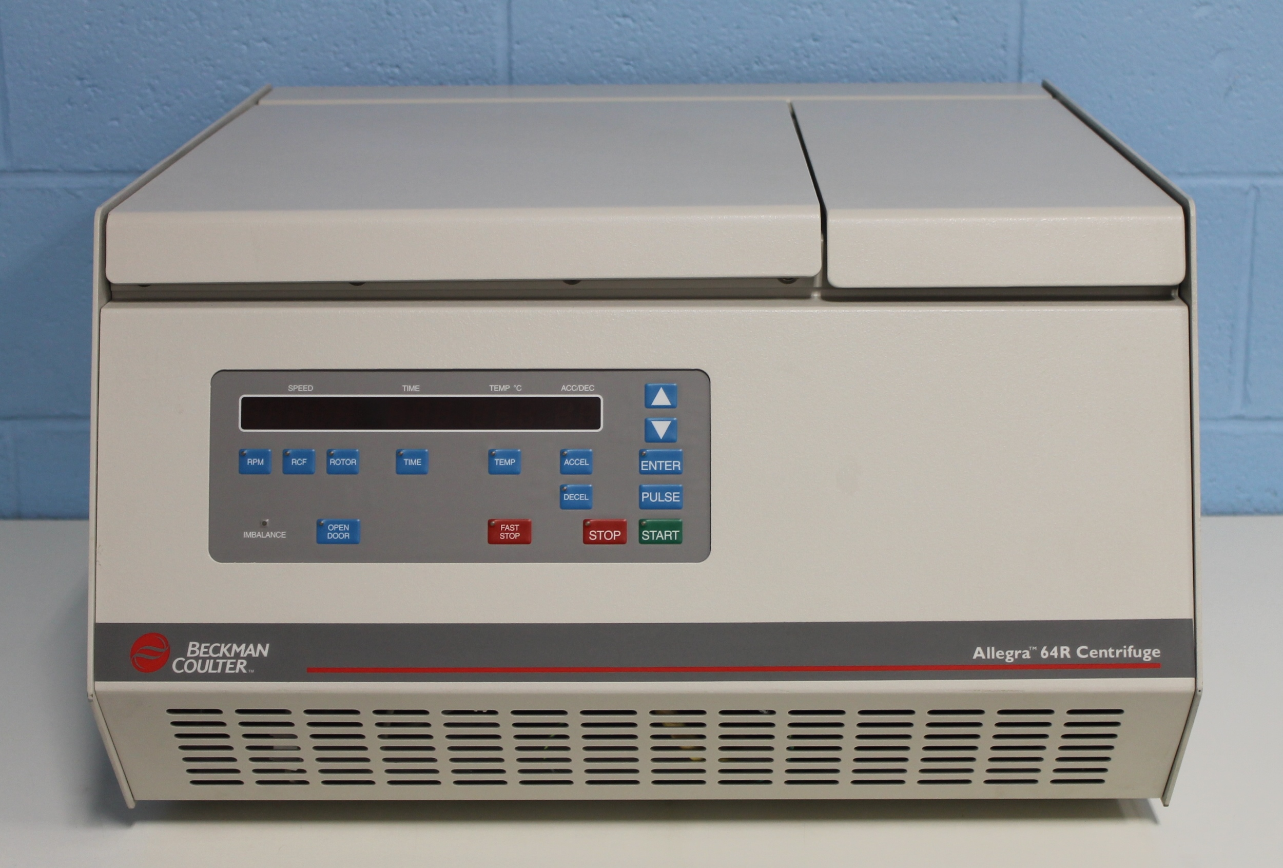 Beckman Coulter Allegra 64R High-Speed Refrigerated Centrifuge Image