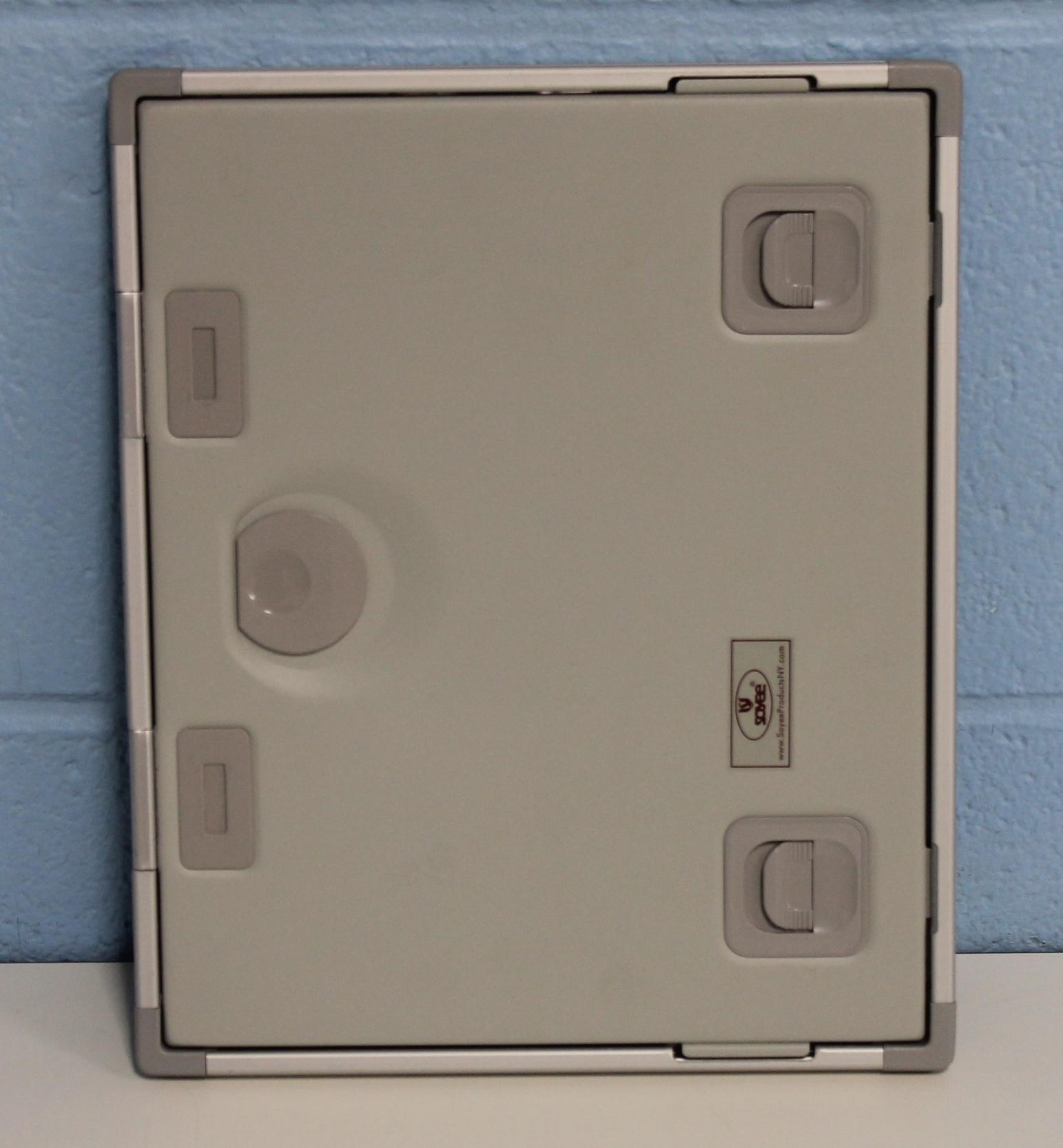 Soyee Aluminum Push Button X-ray Cassette - 8x10 Image