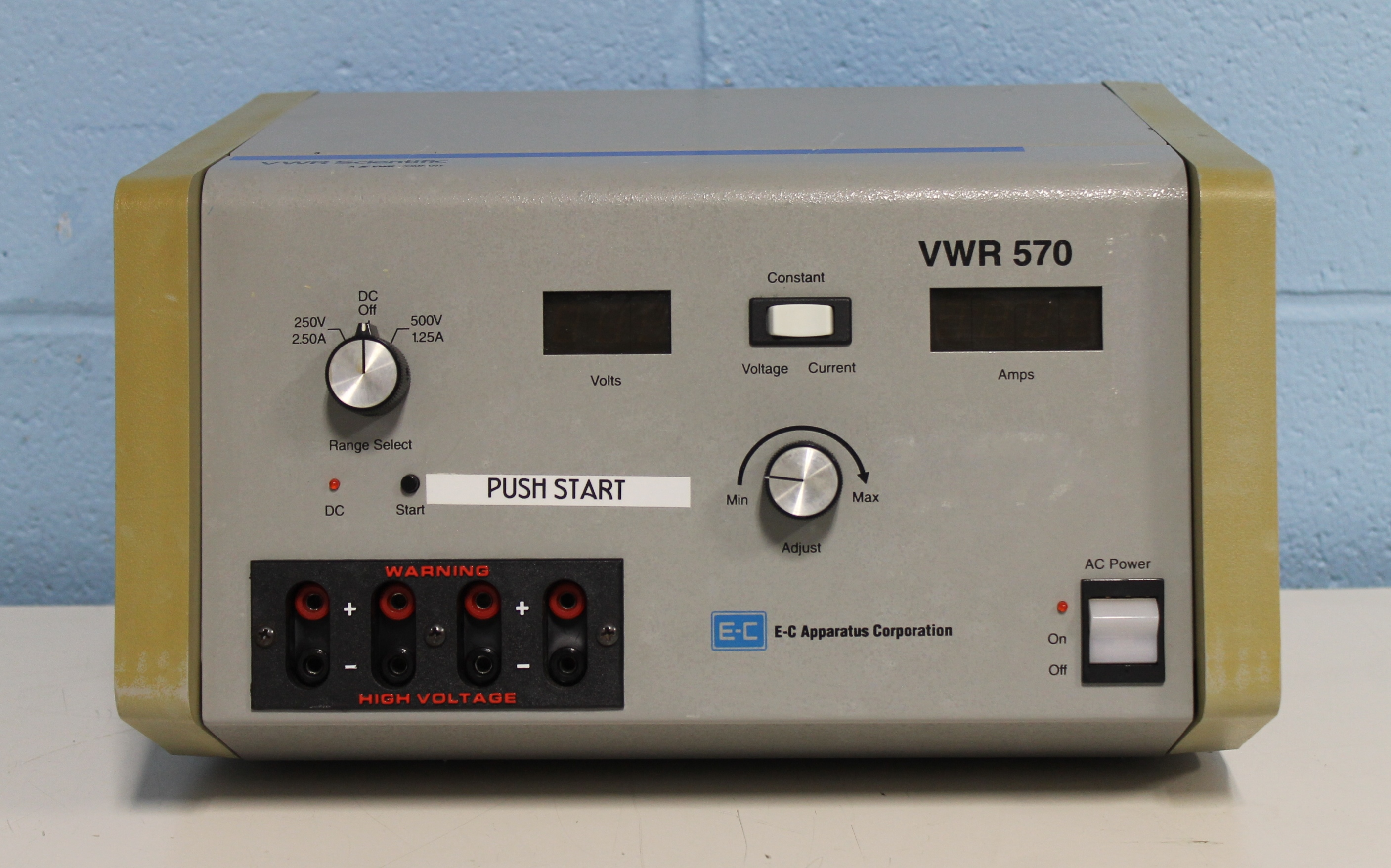 VWR Apparatus 570 Electrophoresis Power Supply Image