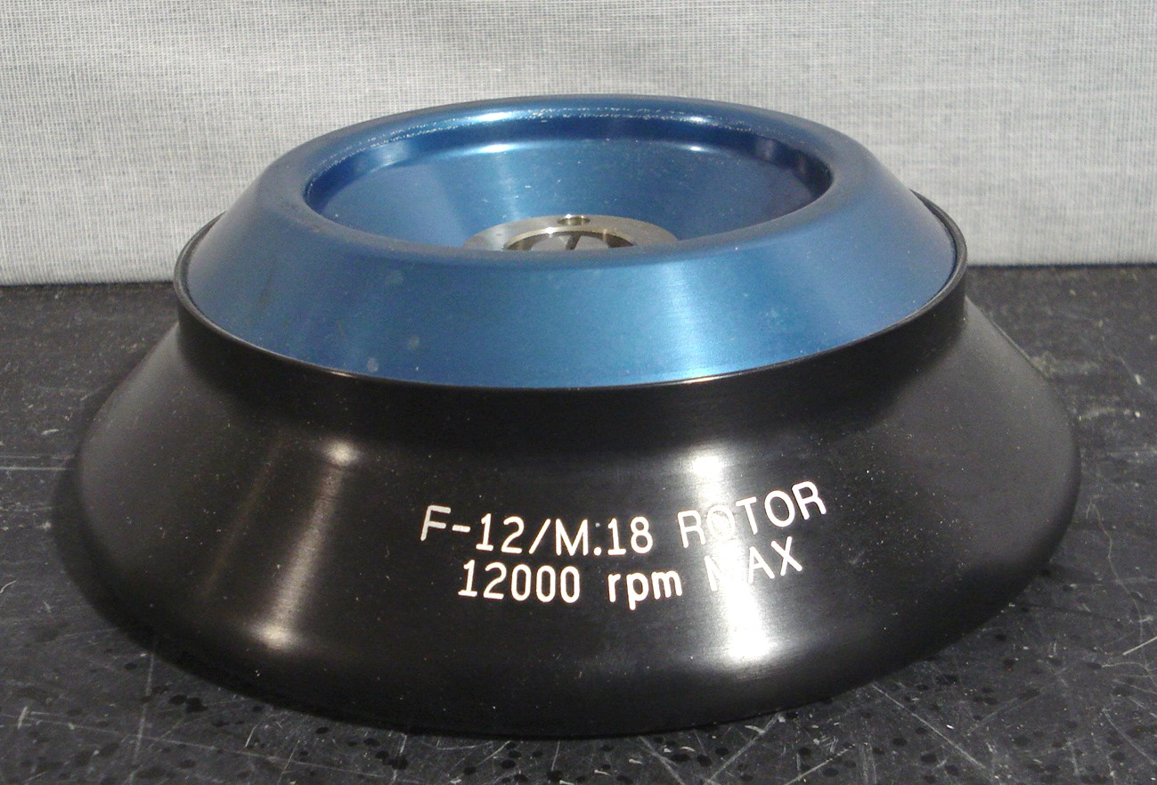 Sorvall F-12/M.18 Rotor Autoclavable 121C Model F Image
