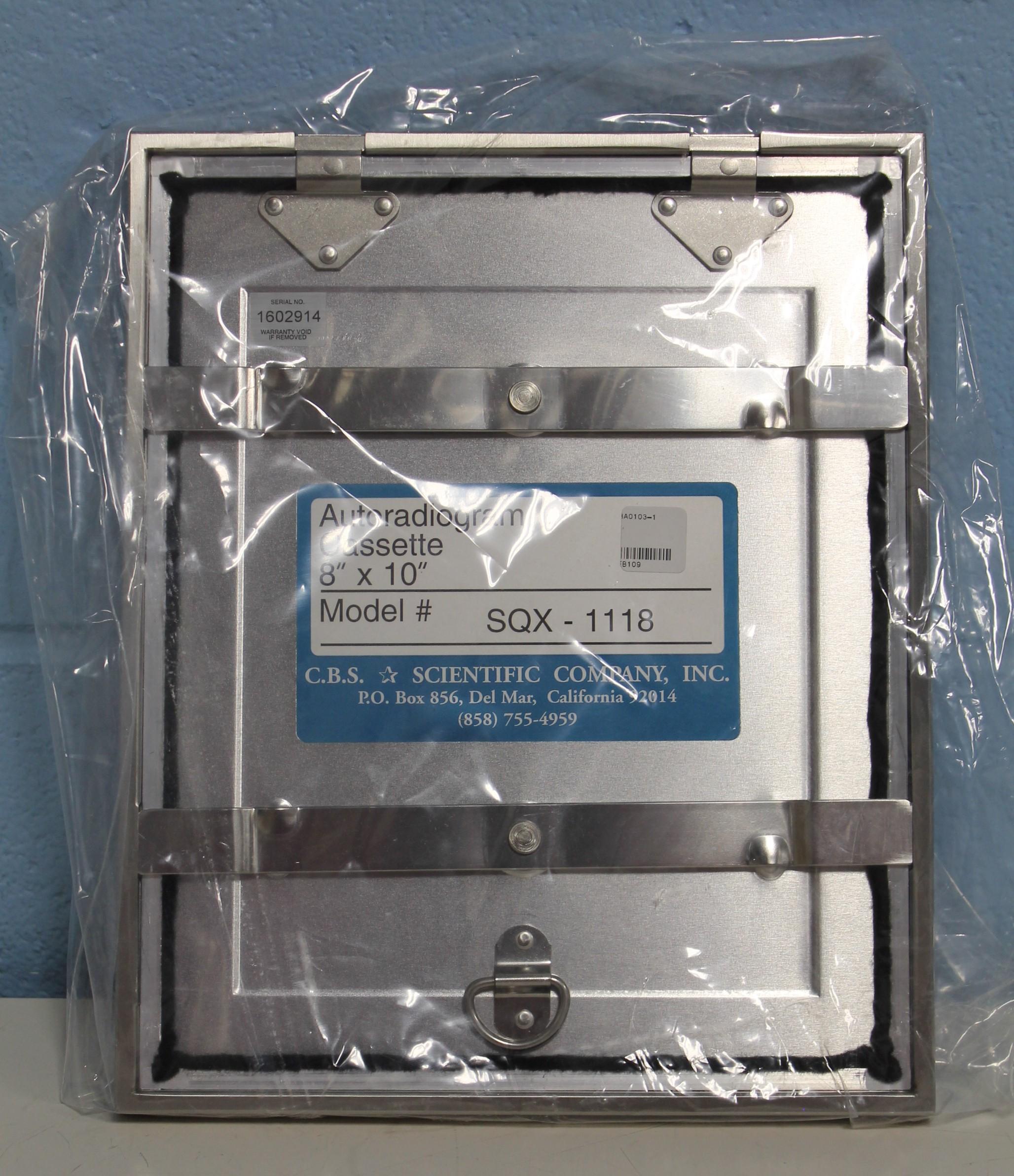 C.B.S. Scientific Autoradiogram Cassette Image