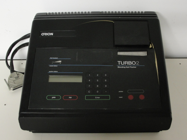 Orion TURBO2 Blending Volumetric Titrator Electronic Console Image