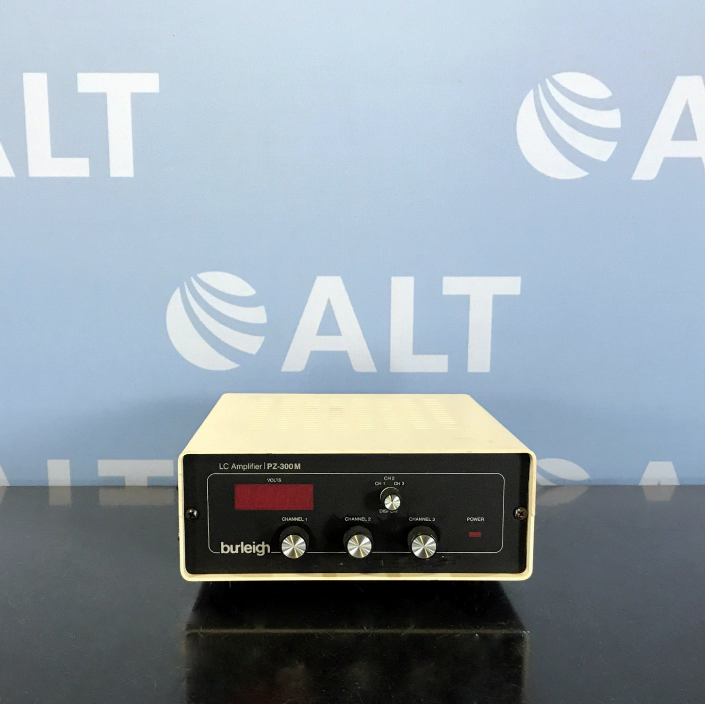 Burleigh Pz-300m 3 Channel LC Amplifier Image