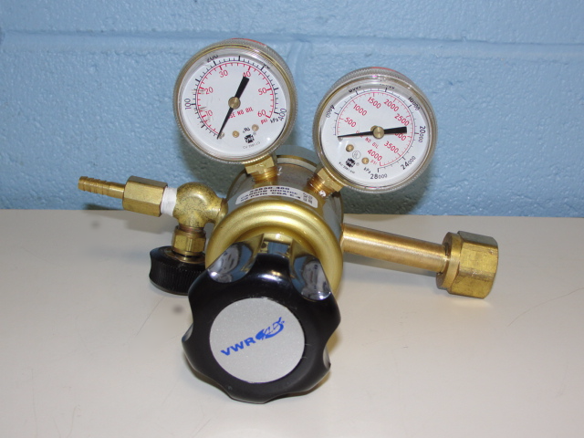 VWR Multistage Gas Regulator with Neoprene Diaphragm Cat No. 55850-480 (Carbon Dioxide) Image