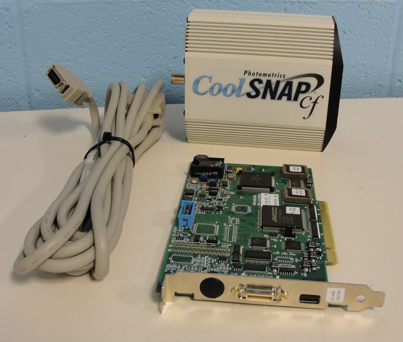 Photometrics CoolSNAP cf High-Resolution Interline CCD Camera Image