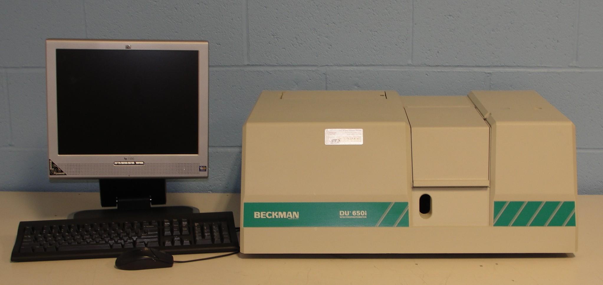 Beckman Coulter DU 650i Spectrophotometer with Multi Cuvette Holder Image