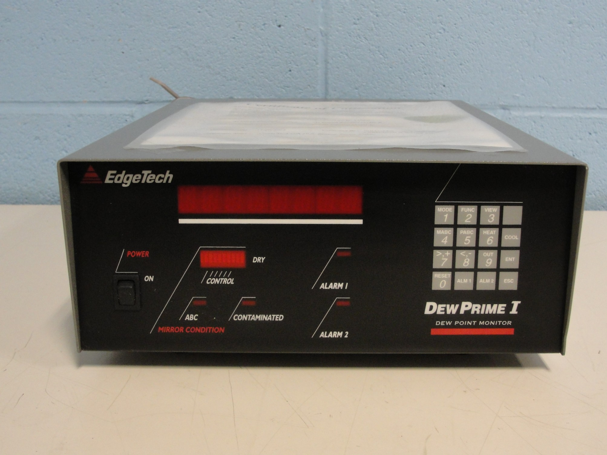 EdgeTech Dew Prime I  Dew Point Monitor Image