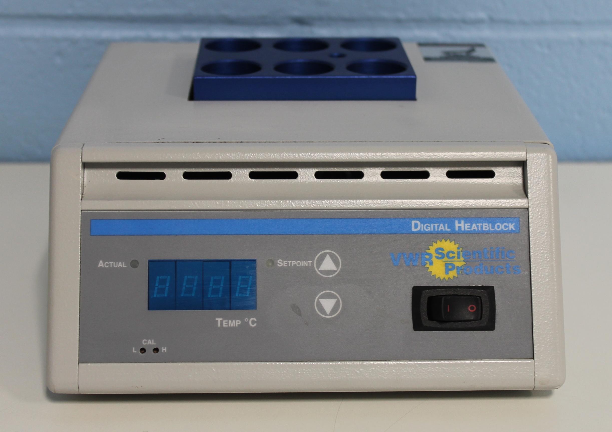 VWR Digital Heatblock CAT No. 13259-050 P/N 949035 Image