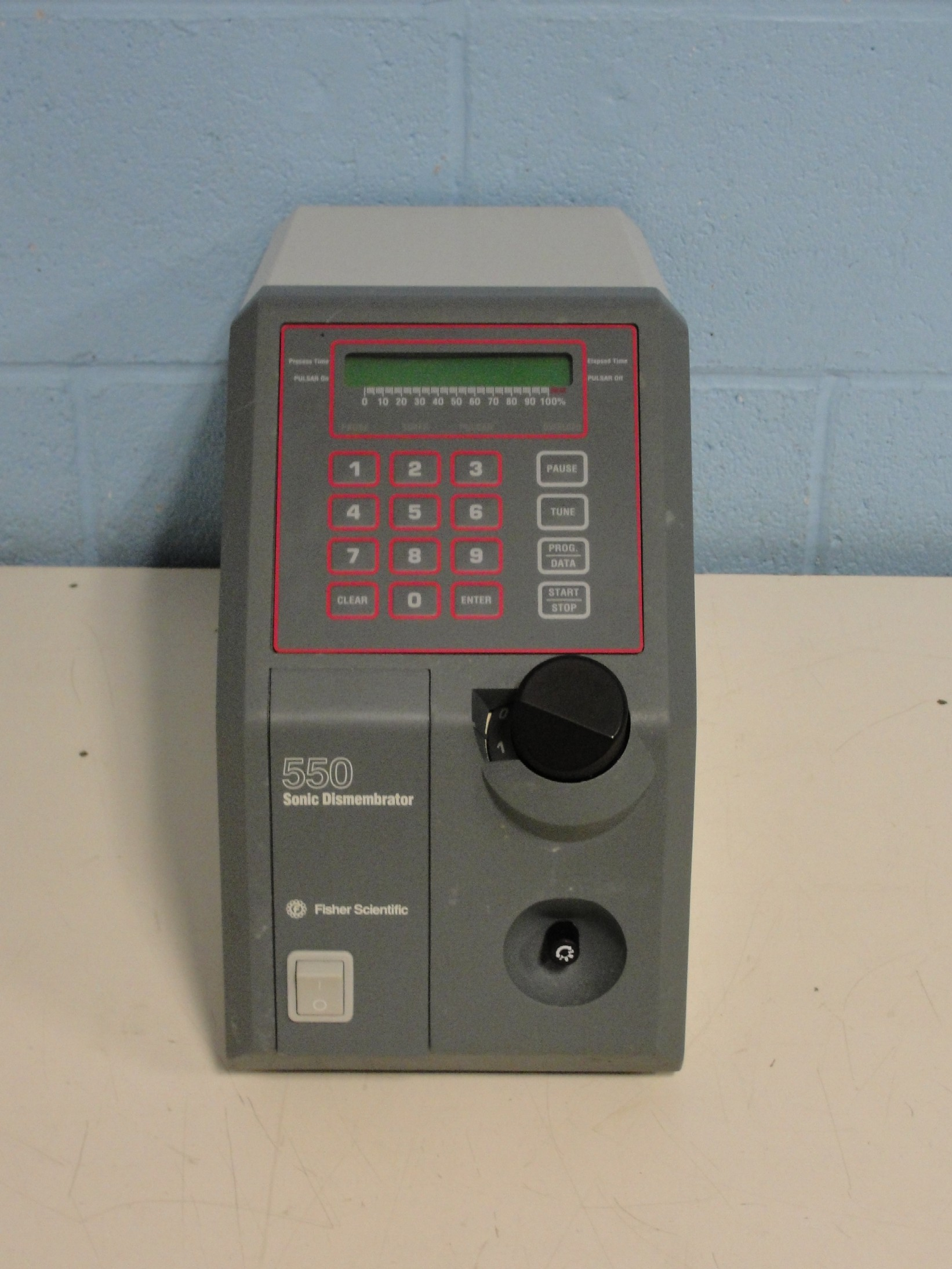 Fisher Scientific F 550 Sonic Dismembrator Image
