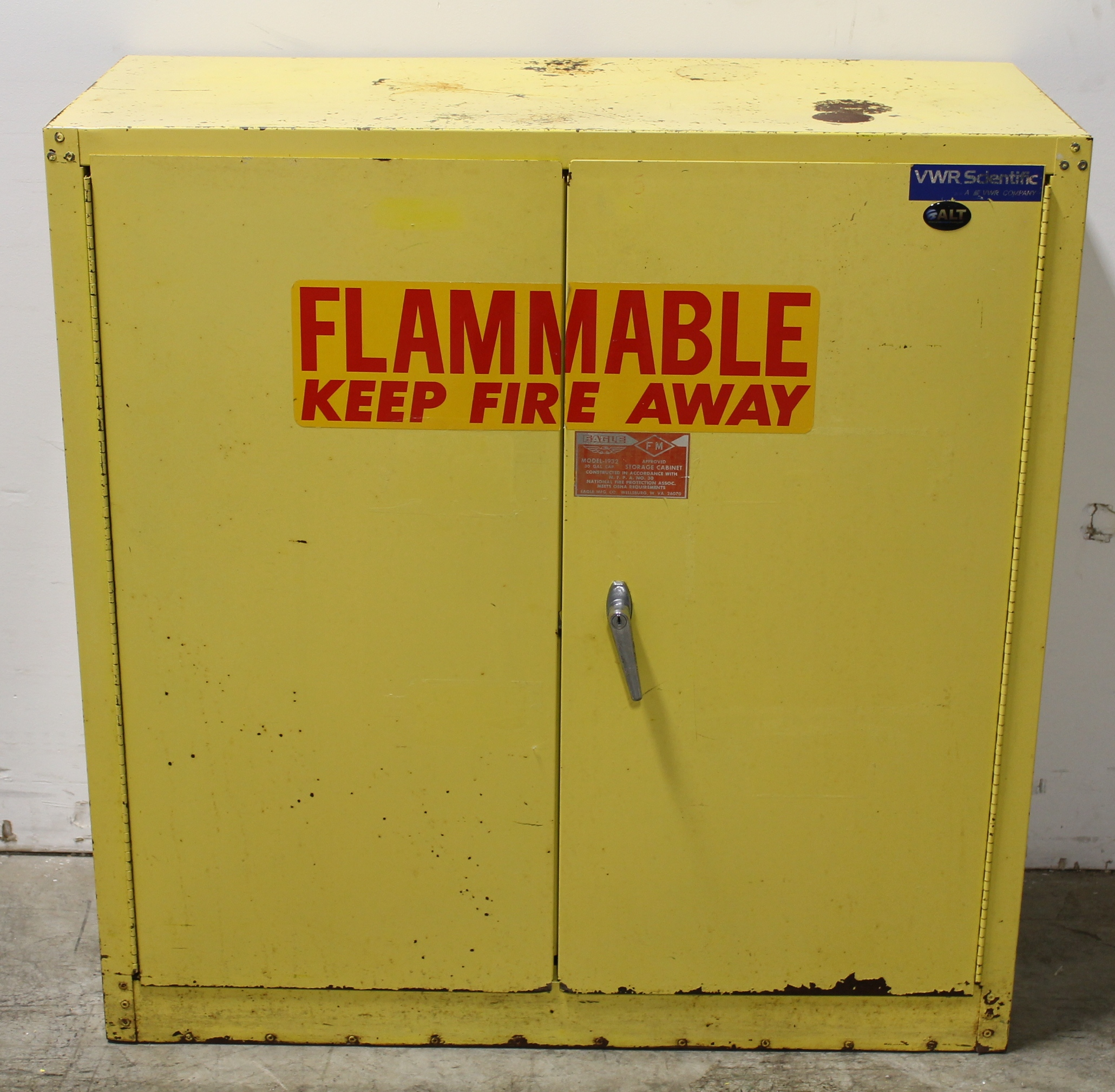 Refurbished Eagle Manufacturing Flammable Storage Safety