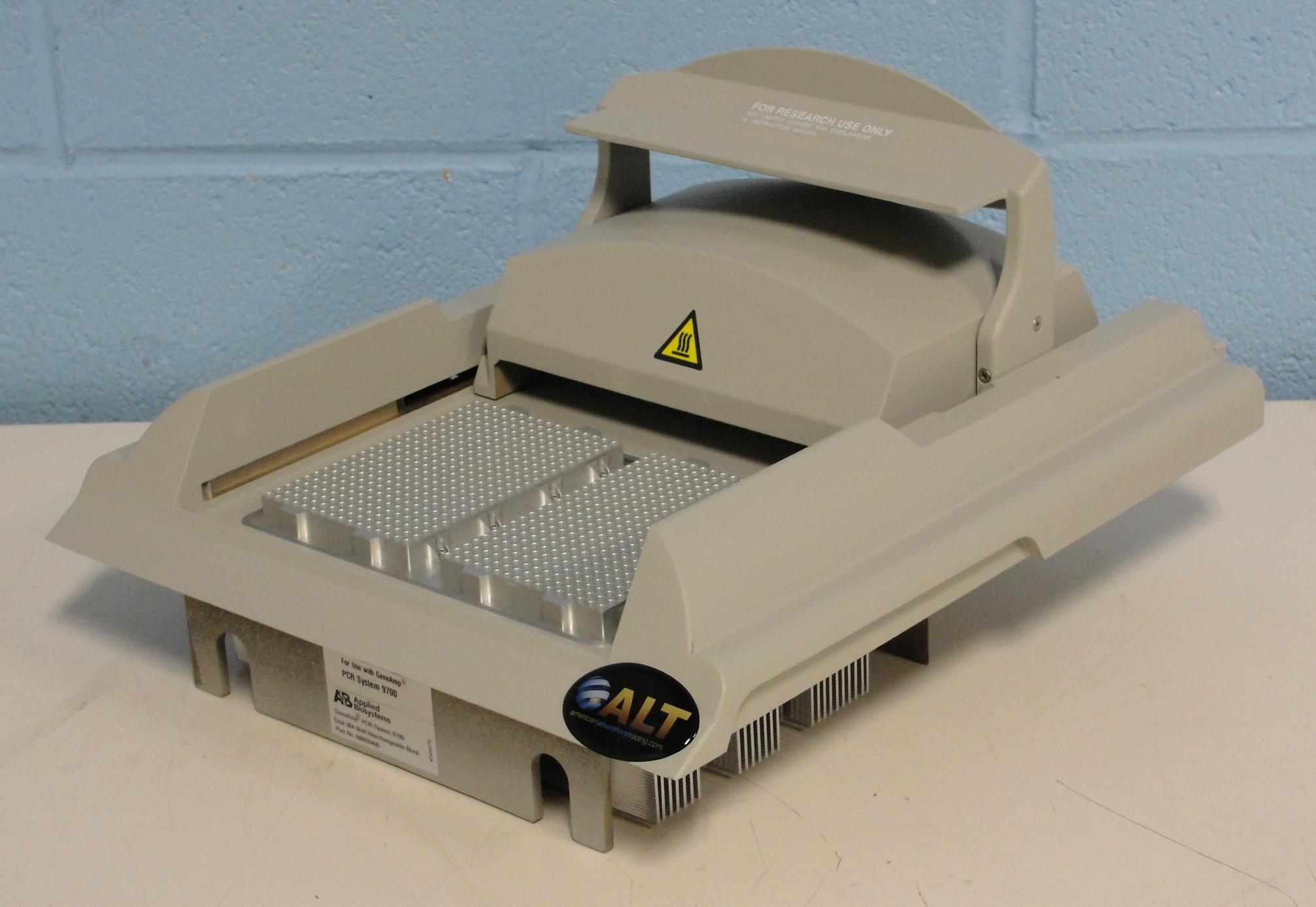 refurbished applied biosystems geneamp pcr system 9700. Black Bedroom Furniture Sets. Home Design Ideas