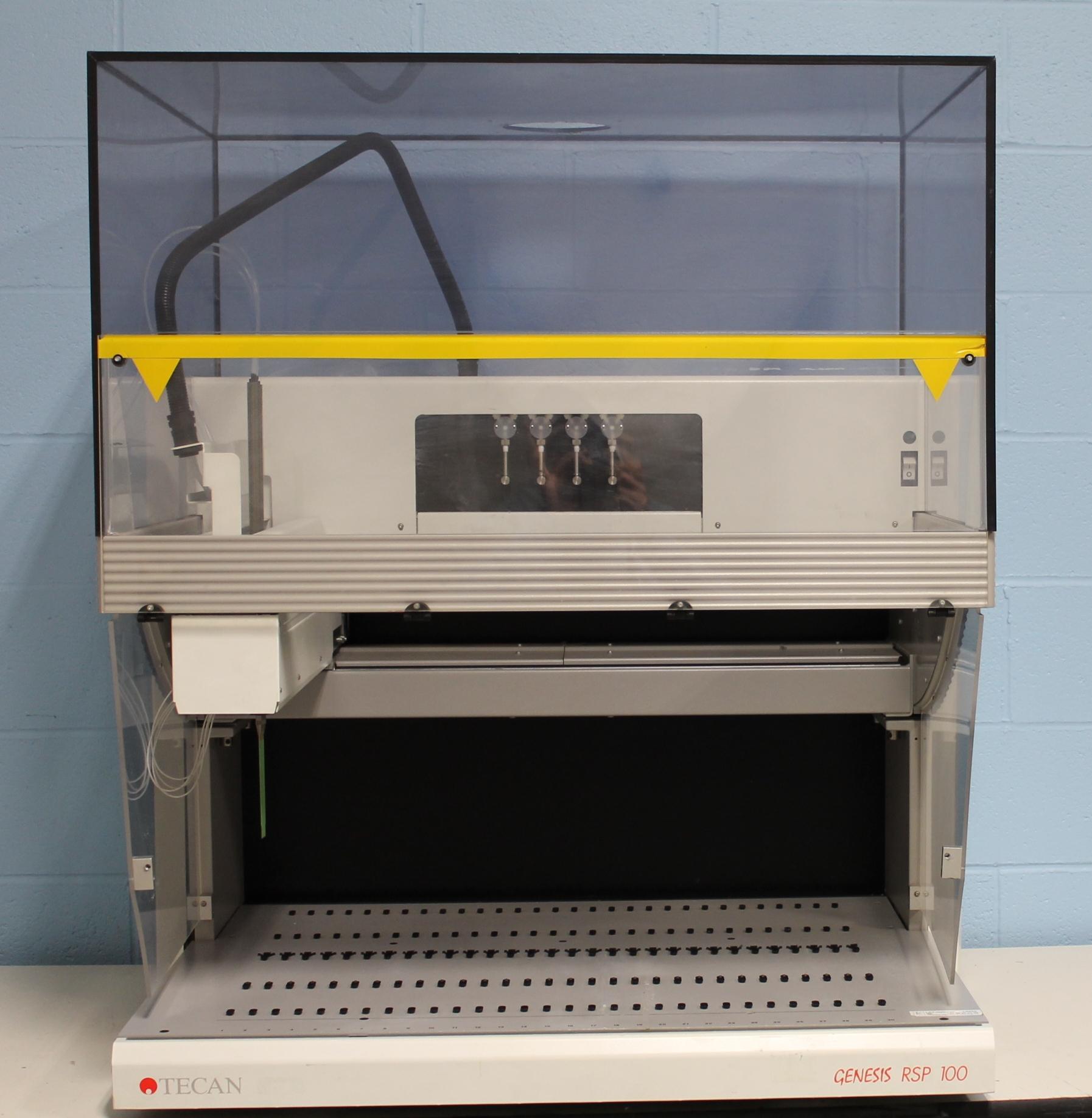 Tecan Genesis RSP 100/4 Liquid Handling Robotic Sample Processor (RSP) Image