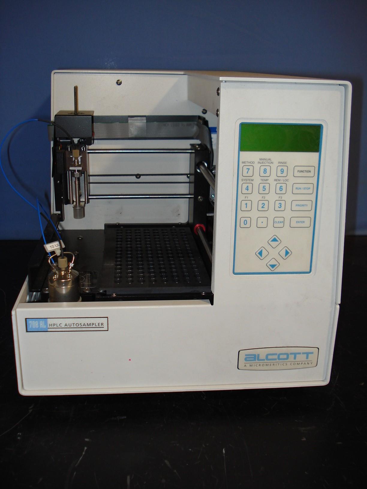 Alcott HPLC Autosampler Positive Displacement Model 708AL Image