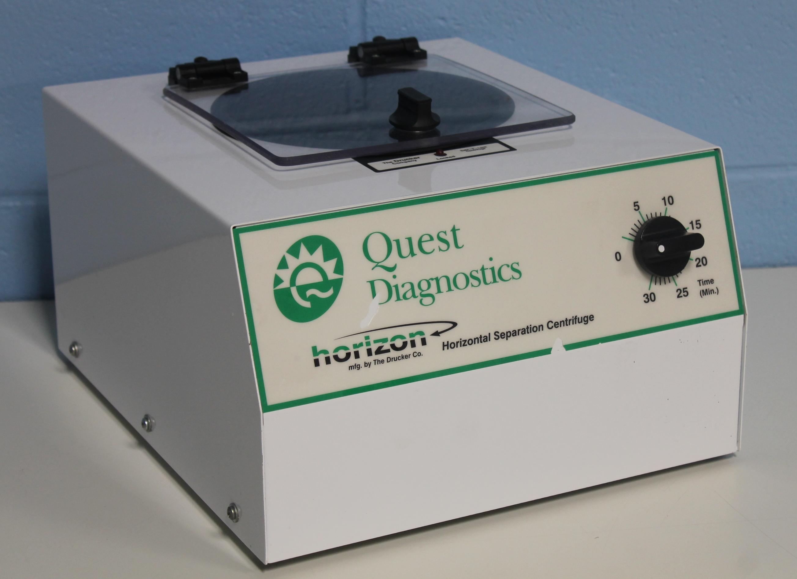 Refurbished Quest Diagnostics Horizon Model 641 Quest Centrifuge