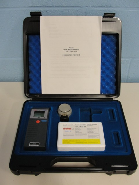 Rotronic Instruments Hygromer PA-1 P Series Indicating Probe with Calibration Accessories Image