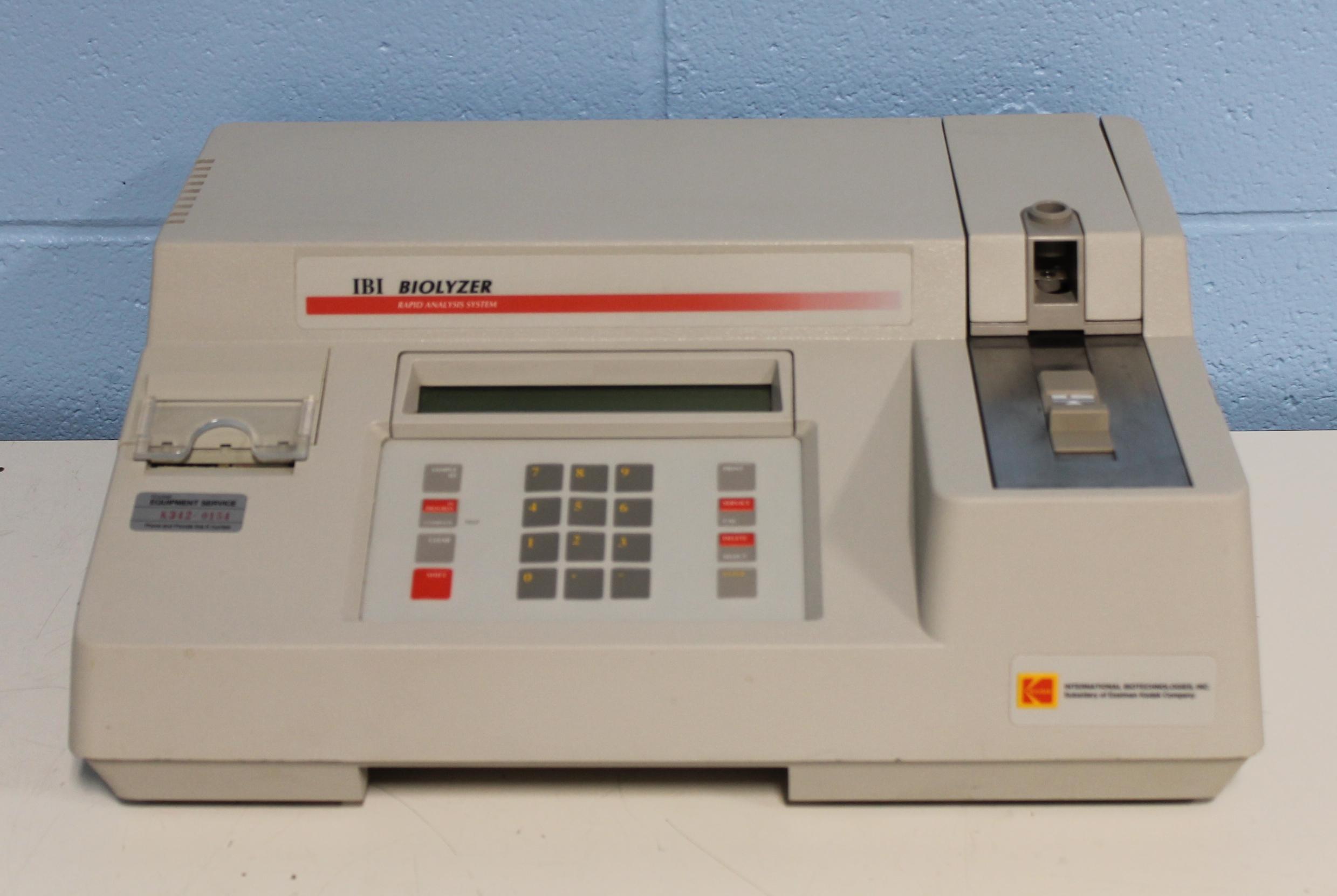 Kodak IBI Biolyzer Kinetic Module Image