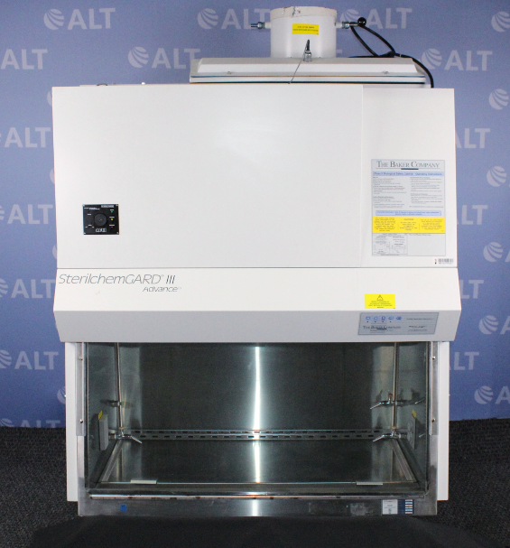 Baker Company SG403TX 4' SterilchemGARD III Advance Class II Type B2 Biological Safety Cabinet Image