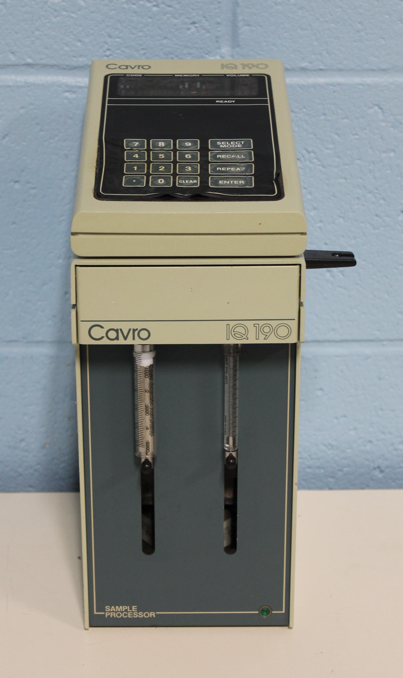 Cavro IQ190 Sampler Processor Image