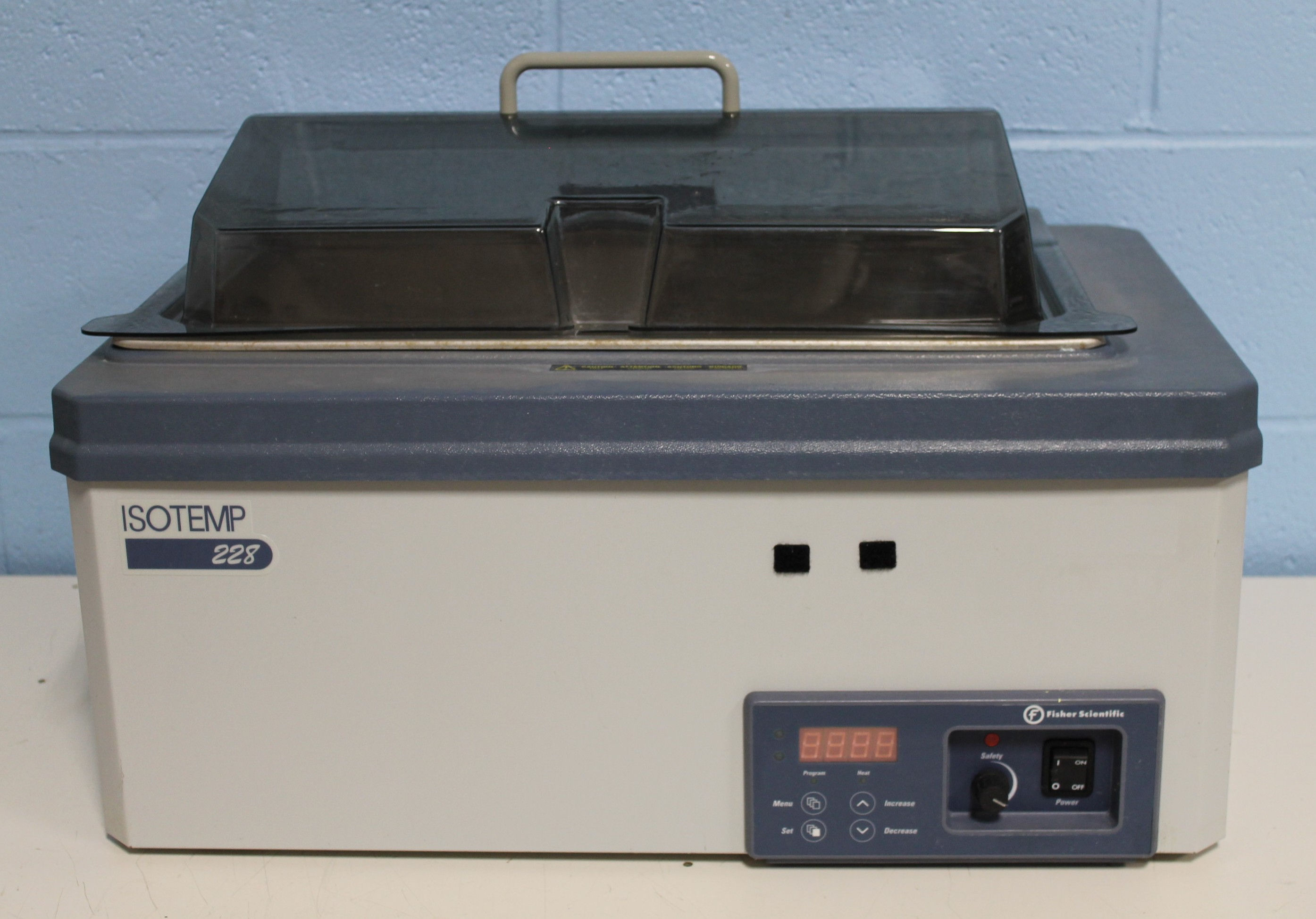 Fisher Scientific Isotemp 228 Heated Water Bath Image