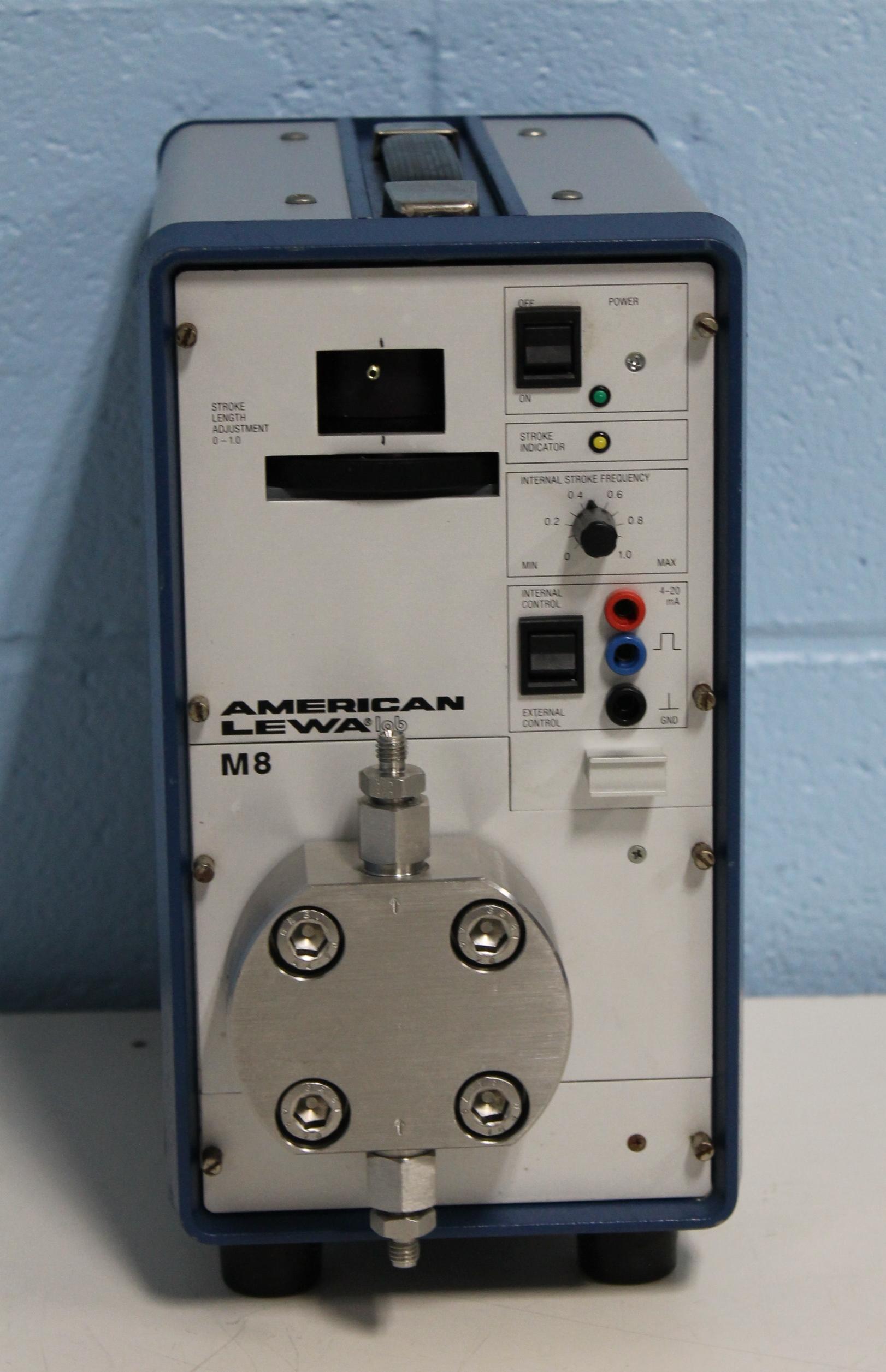 American Lewa Lab M8 Microflow-Metering Pump Image