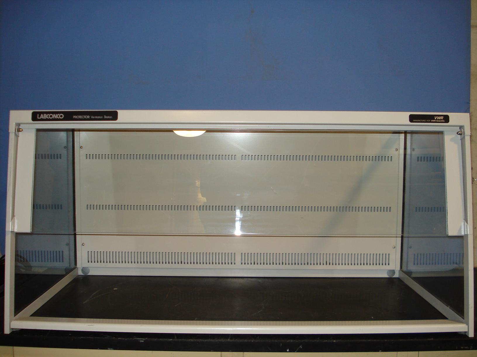 refurbished vwr scientific labconco protector ventilation station