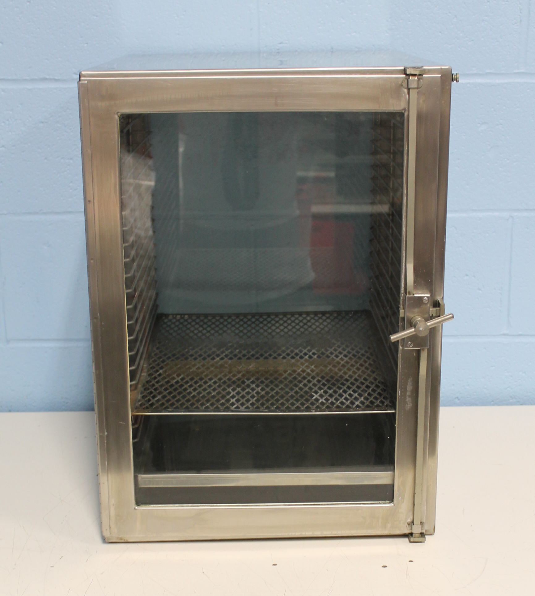 Airtight Stainless Steel Cabinet ~ Refurbished fisher scientific large stainless steel