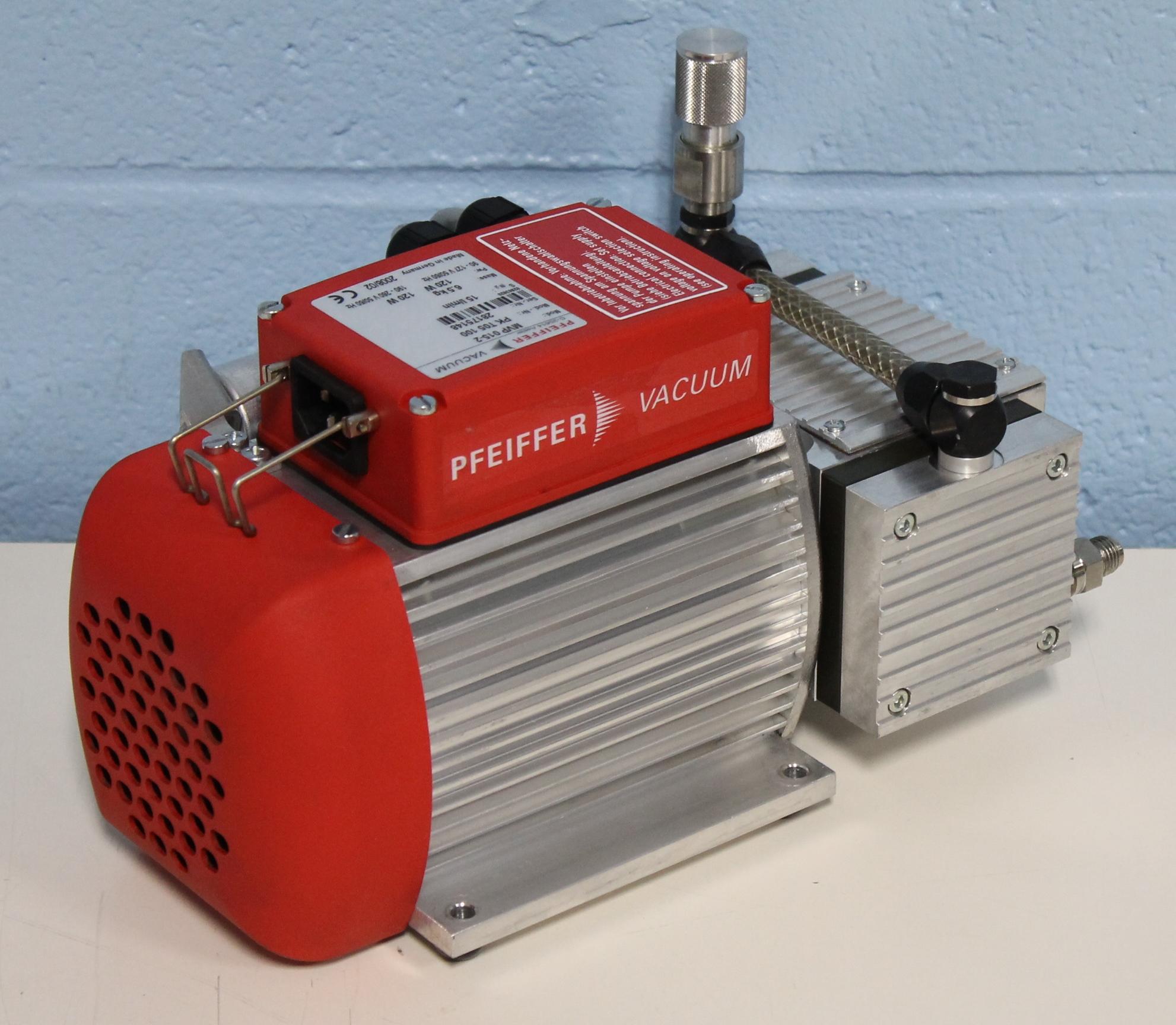 Refurbished Pfeiffer Vacuum Mvp 015 2 Diaphragm Vacuum Pump
