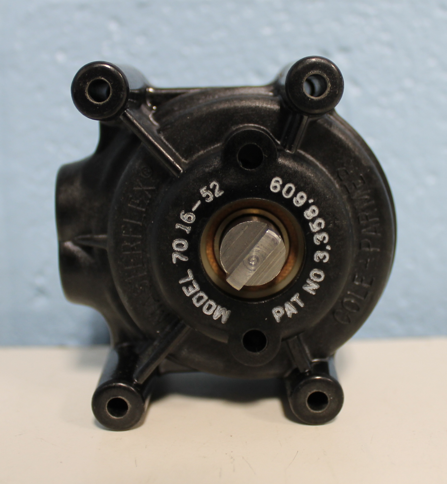 Cole-Parmer Masterflex Standard Pump Head for L/S 16 Tubing, PPS Housing /SS Rotor Image