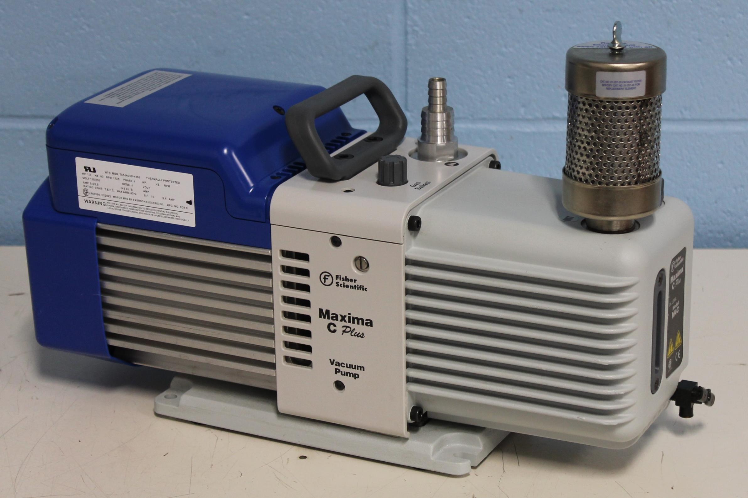 Fisher Scientific Maxima C Plus Direct Drive Vacuum Pump Model M4C Image ...