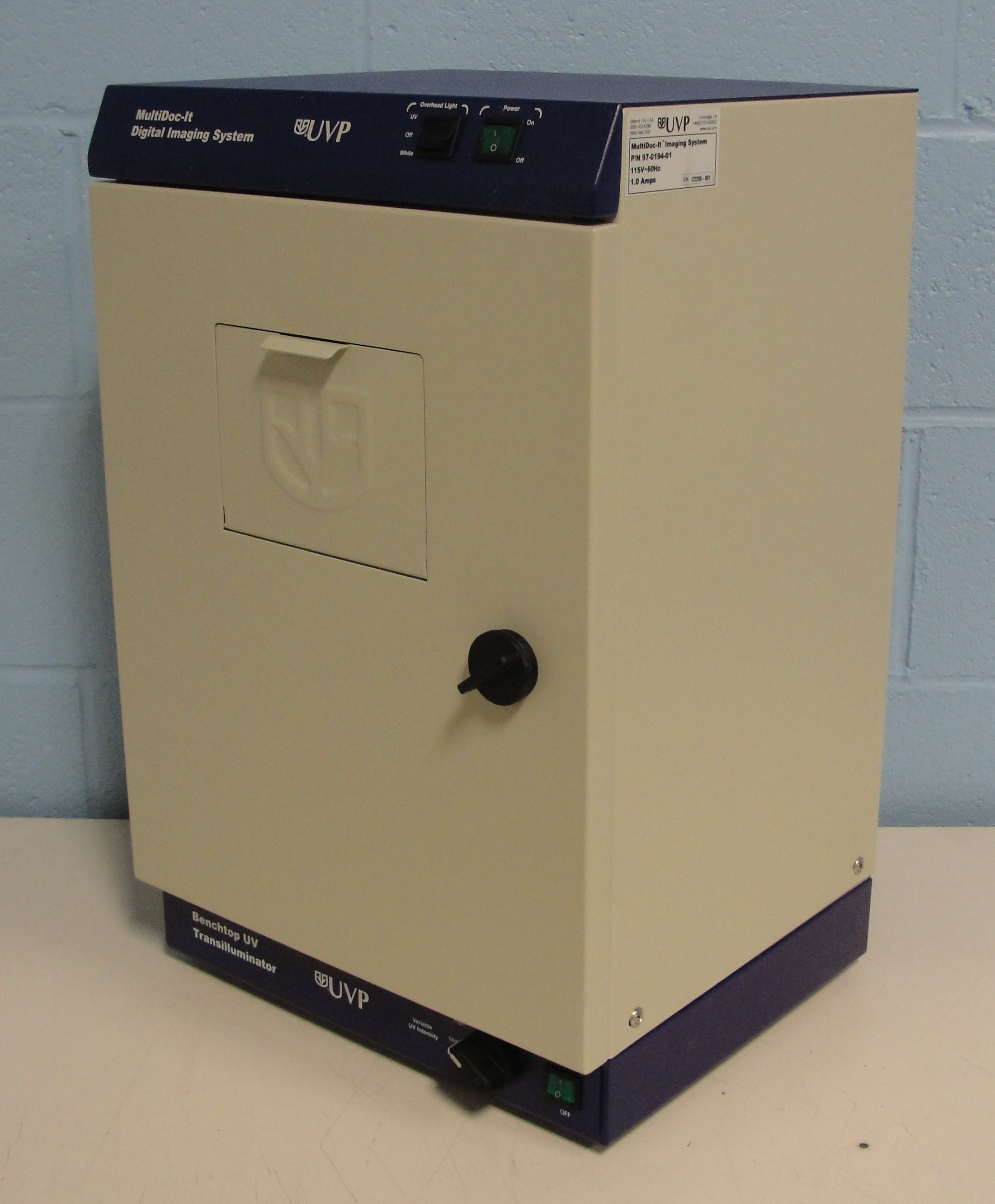 Refurbished Uvp Multidoc It Imaging System Model 105 With